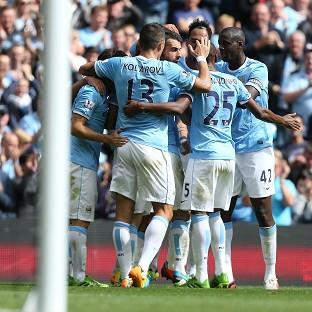 The Northern Echo: Second-half goals from Alvaro Negredo and Yaya Toure saw Manchester City claim the three points