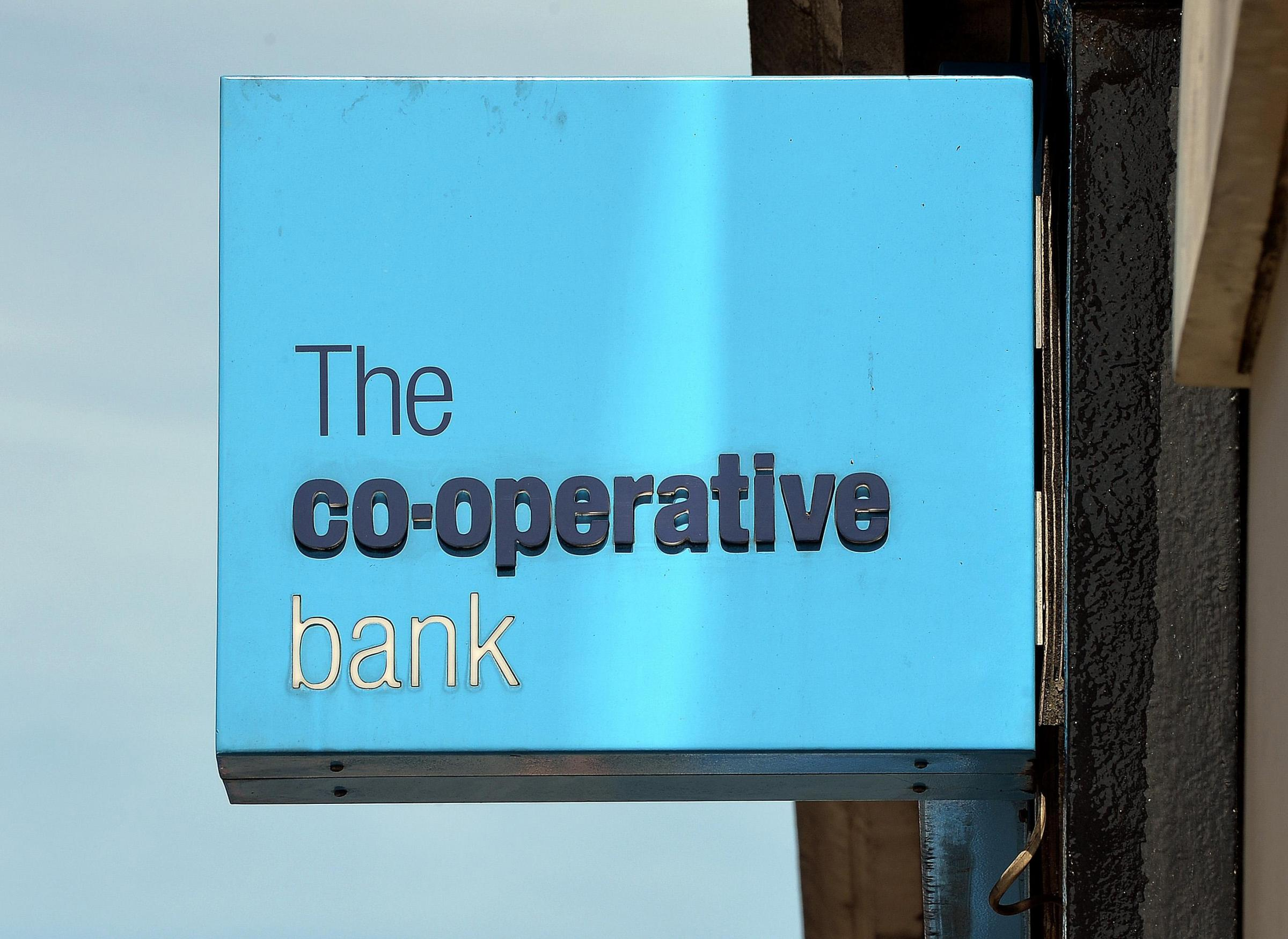 The Co-op's banking arm has suffered a setback
