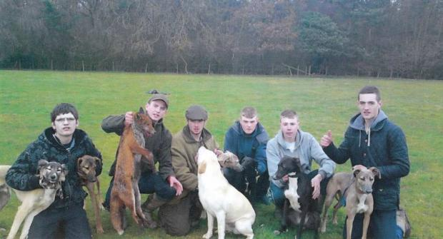 From left to right: Jack Tenwick, Brandon Coulton, Thomas Richardson, Marcus Hall, Damon Dodsworth and Liam Crang
