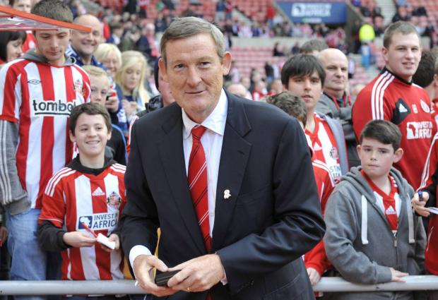 Acted fast: Ellis Short, the Sunderland owner, was quick to sack Roberto De Fanti