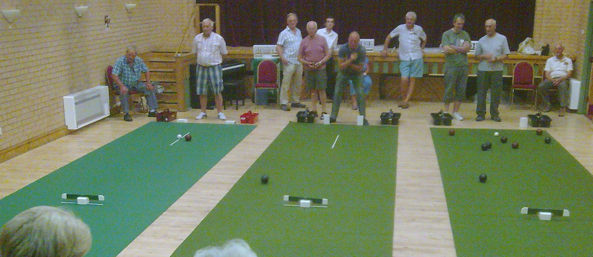 Indoor Bowls Club Meets At Chester Le Street The Northern Echo
