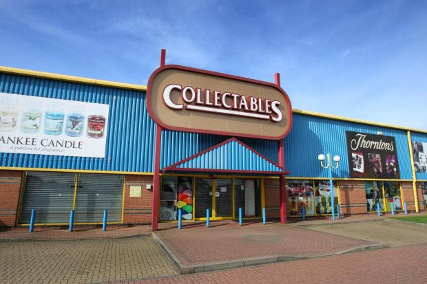 Collectables' former store in Stockton