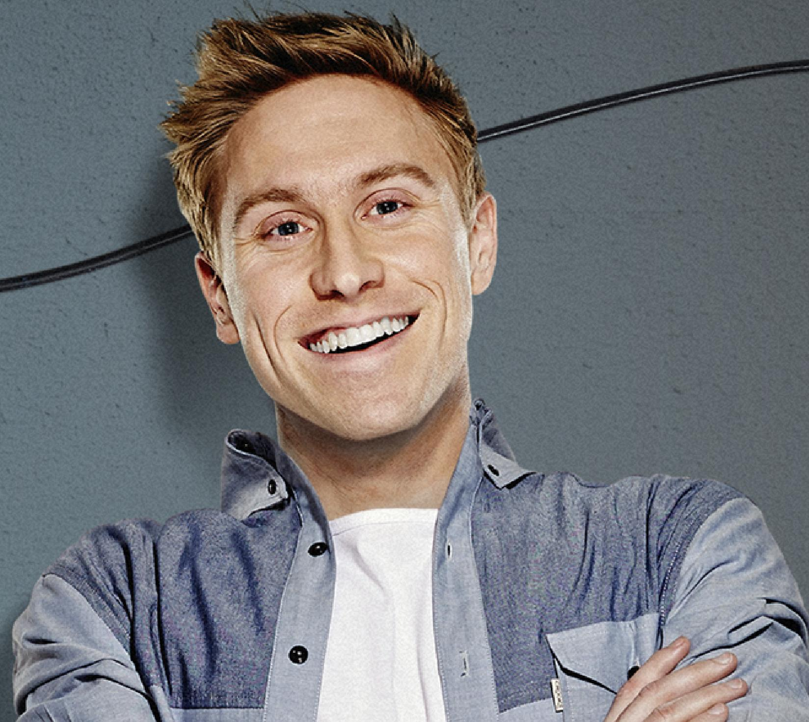 Comedian Russell Howard will perform in Barnard Castle in November