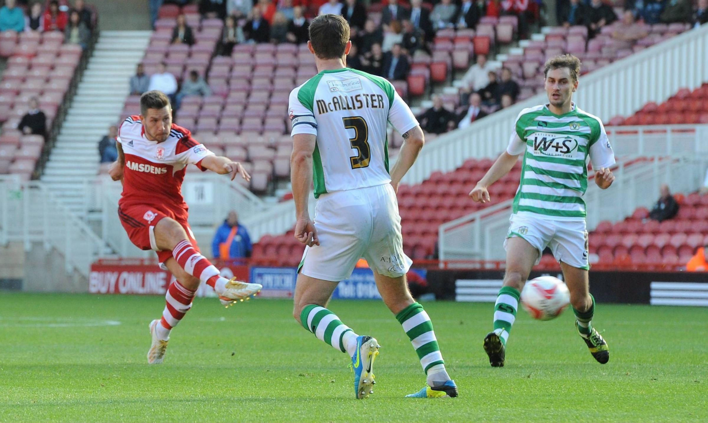 Goal drought does not add extra pressure, insists Middlesbrough's Butterfield