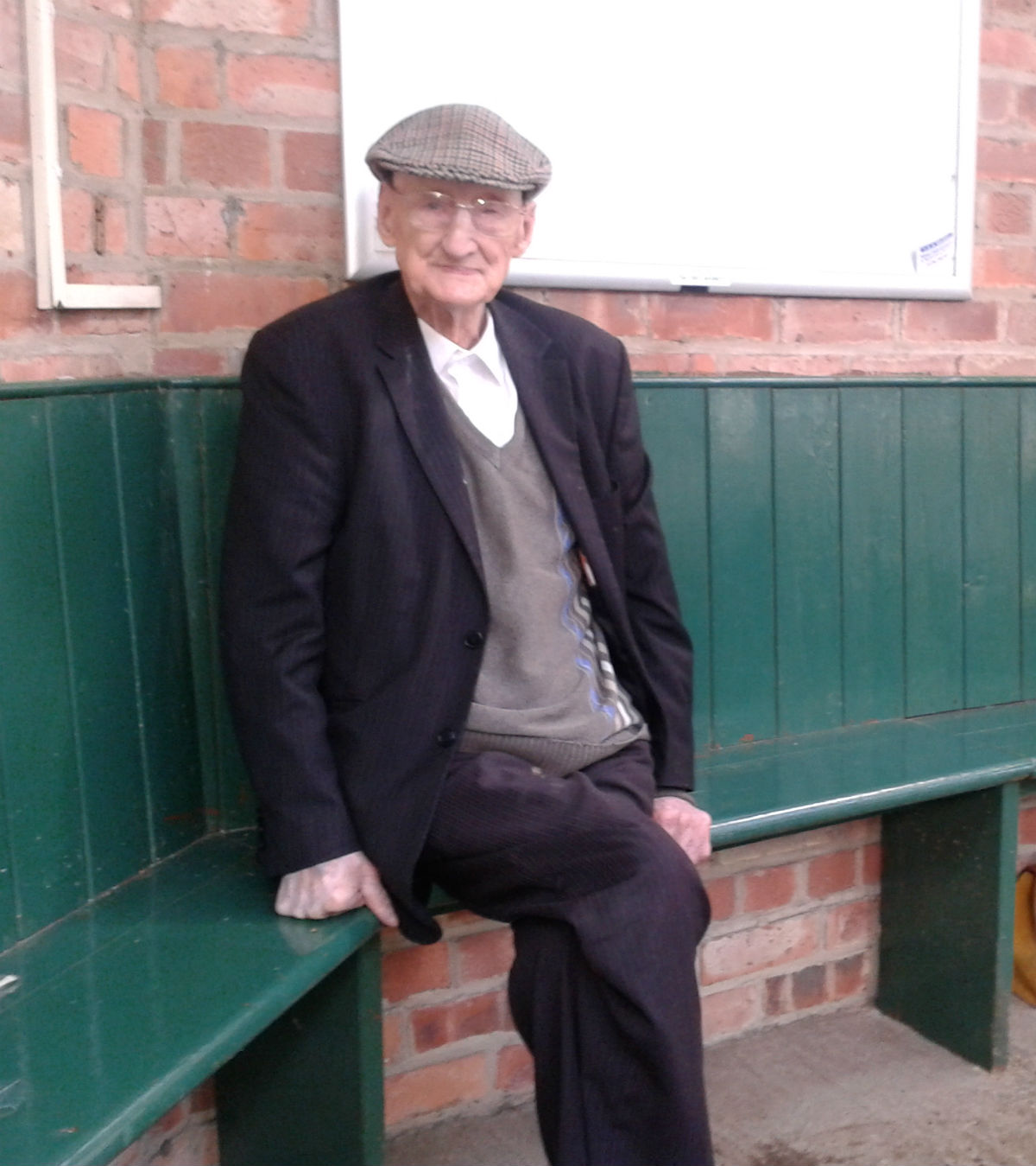 Seamer resident Walter Bainbridge, who celebrated his 100th birthday last year, will be cutting the ribbon on Seamer's renovated village hall