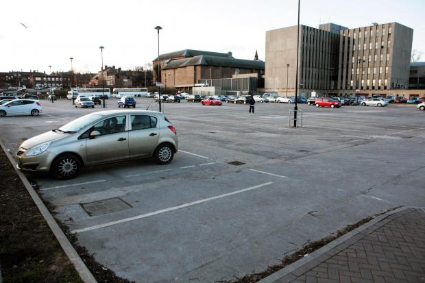 The current Feethams car park will become a cinema development
