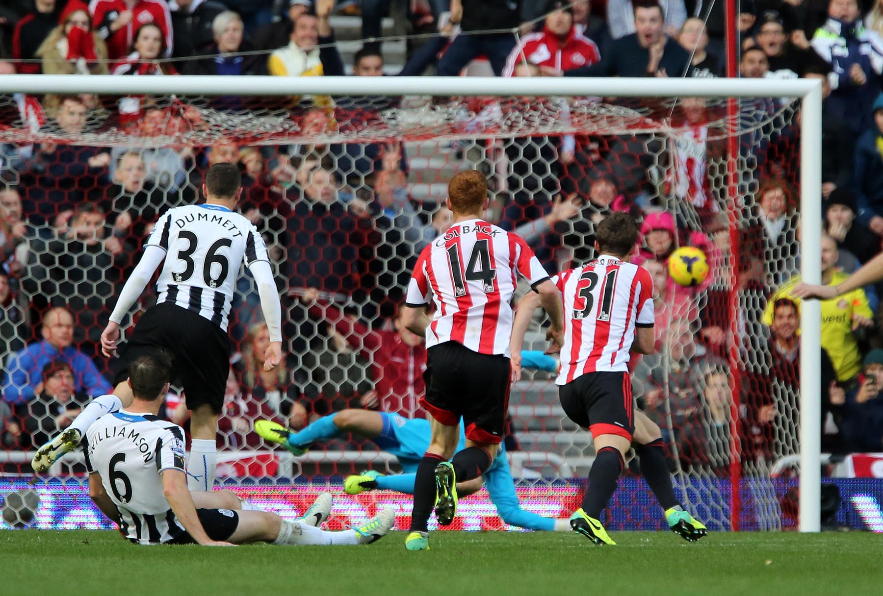 Derby hero: Fabio Borini scored the winner against Newcastle