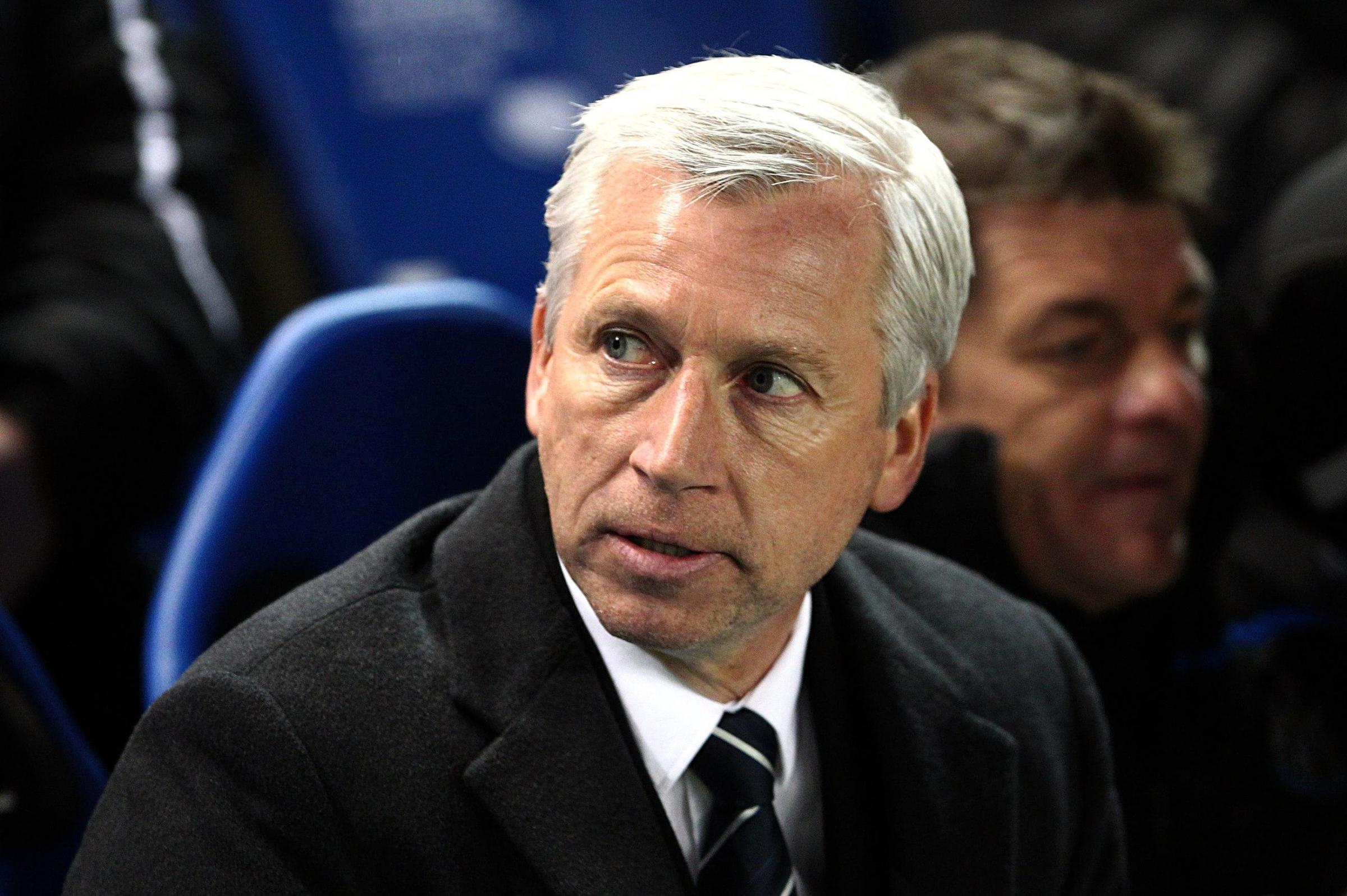 THE BOSS: Alan Pardew believes Newcastle's performances have not been given the praise they deserve