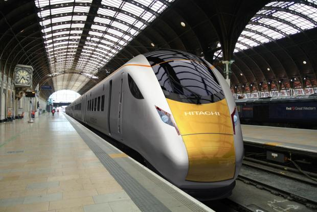 Hitachi loses out on £1bn contract to supply Crossrail trains to rival Bombardier