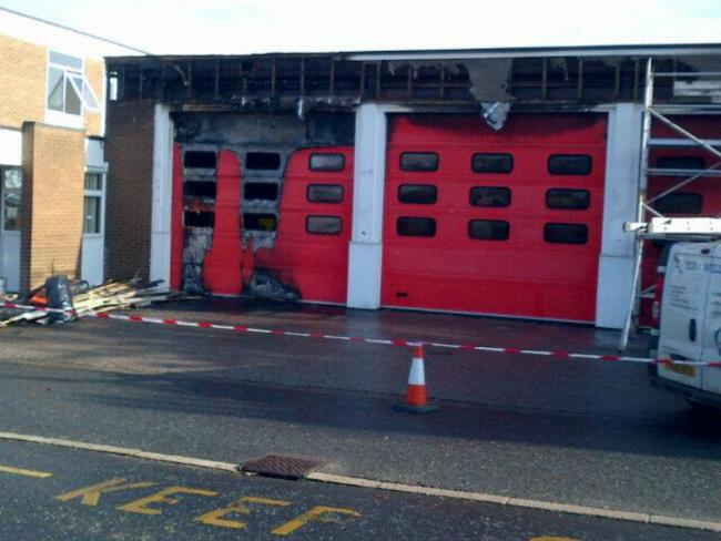 Ripon fire station catches fire - on busiest day of year for