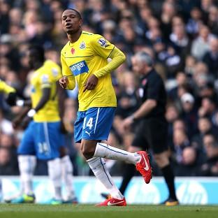The Northern Echo: Loic Remy celebrates scoring the only goal