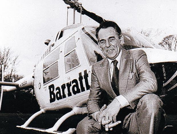 Barratt Developments founder Sir Lawrie Barratt