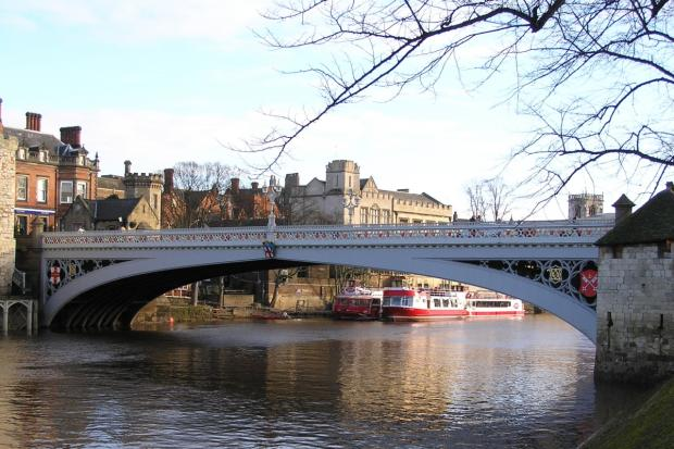 Lendal Bridge in York.