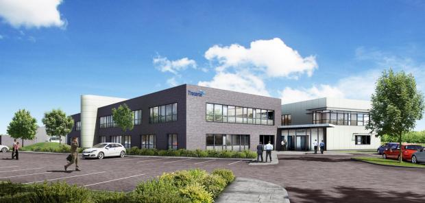NEW BUILD: An artist's impression of Tracerco's new building