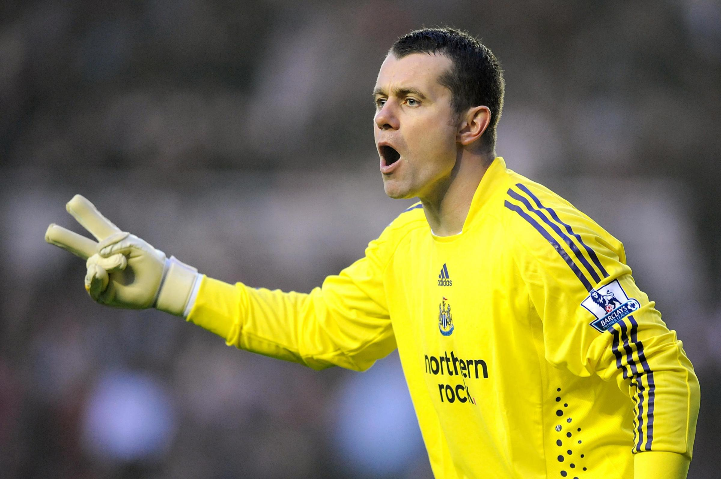 Enjoying his latest role: Shay Given is looking to keep Boro in the play-off picture as Newcastle prepare for Sunderland visit