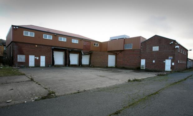 The slaughterhouse in Boosbeck which has now re-opened