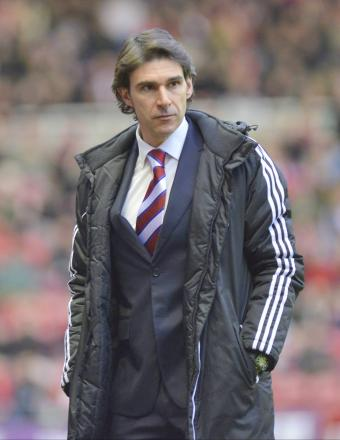 MIDDLESBROUGH MANAGER: Aitor Karanka