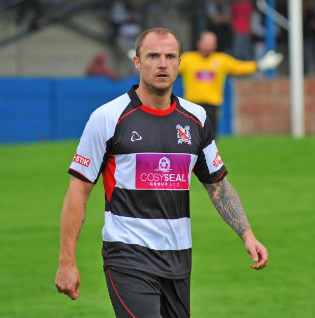 The Northern Echo: LEVELLER: Alan White scored Darlington's equalising goal on Saturday