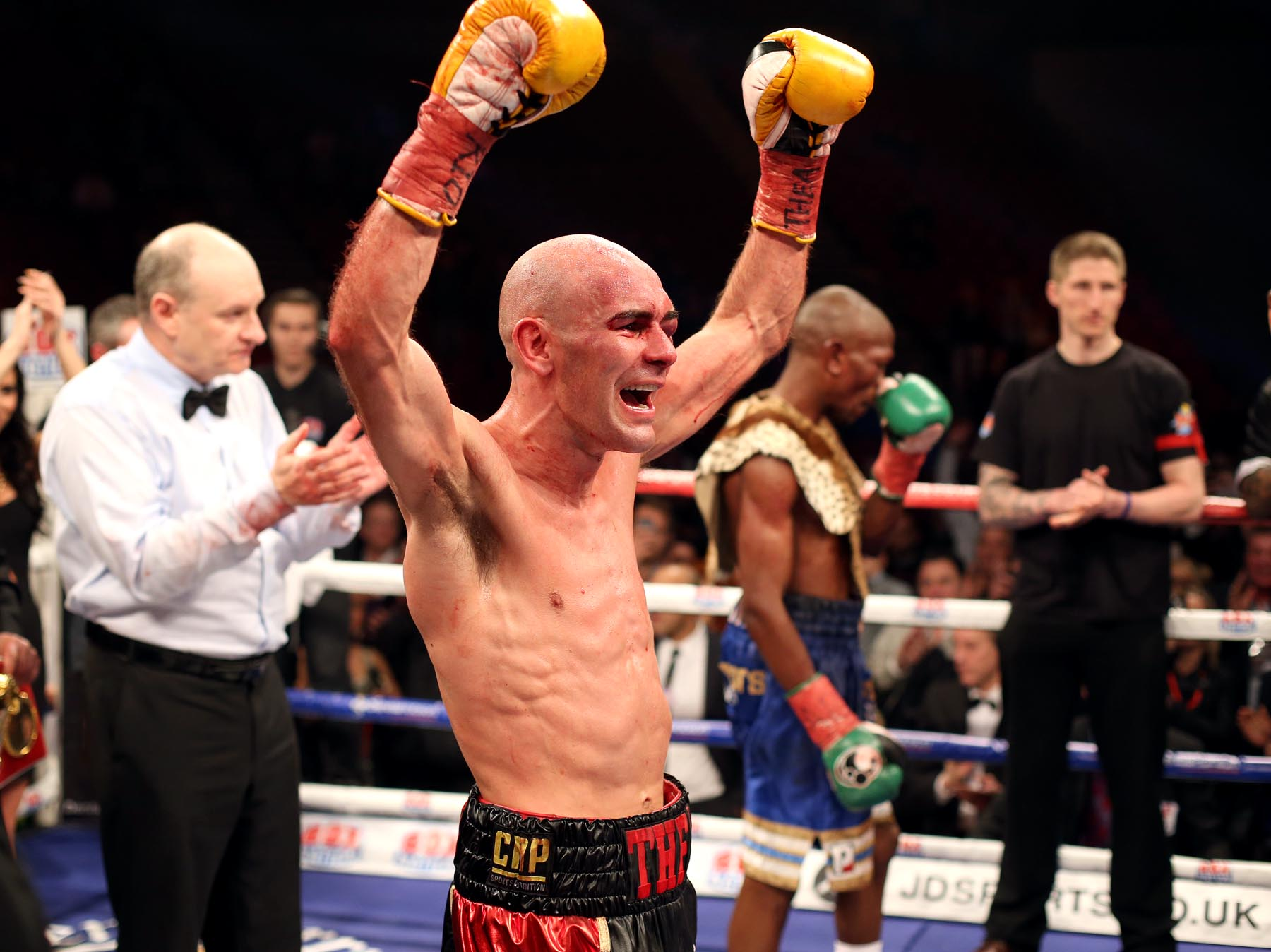 READY TO RUMBLE: Stuart Hall defends his IBF World Bantamweight title against Martin Ward in Newcastle this weekend