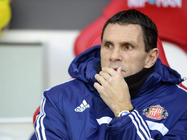 PARTIALLY CULPABLE: Gustavo Poyet will have to take his share of the blame if Sunderland drop into the Championship next month
