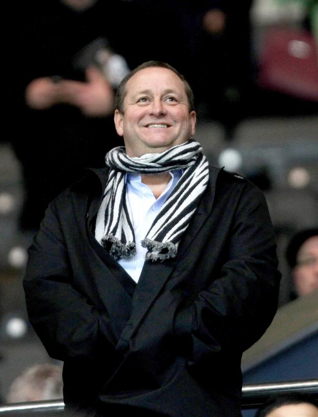 The Northern Echo: KEY MOTIVATION: Might Sports Direct advertising explain why Mike Ashley continues to retain sole ownership of Newcastle United?