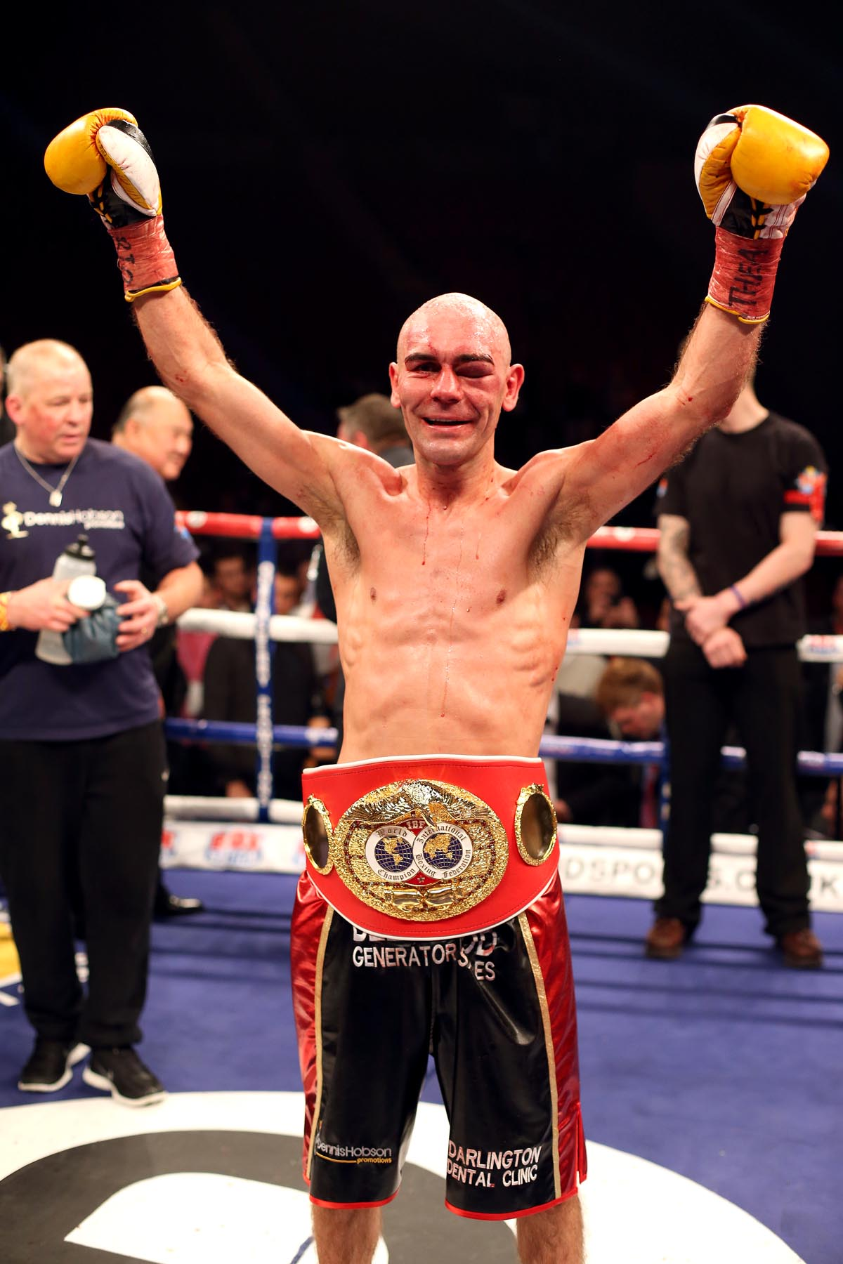 TITLE DEFENCE: Stuart Hall is set to defend his IBF World Bantamweight title against Martin Ward at Newcastle's Metro Radio Arena
