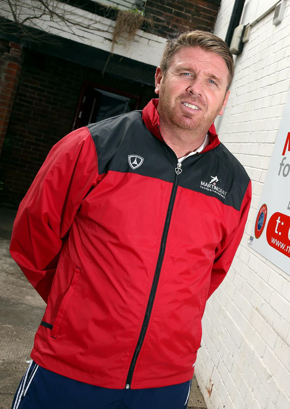Martin Gray - manager