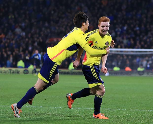 Happy man: Jack Colback is hoping to be in Gustavo Poyet's team at Wembley
