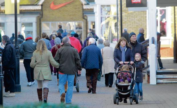 Shoppers head off to find bargains in the sales. Bosses at Middleton Grange, in Hartlepool, have reported increased visitor numbers