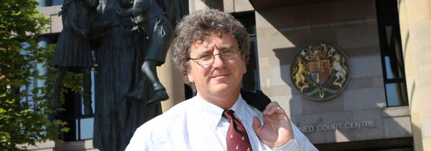 The Northern Echo: Barrister Ian West
