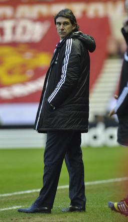 IN CHARGE: Aitor Karanka will have the final say over all incomings and outgoings at Middlesbrough this month