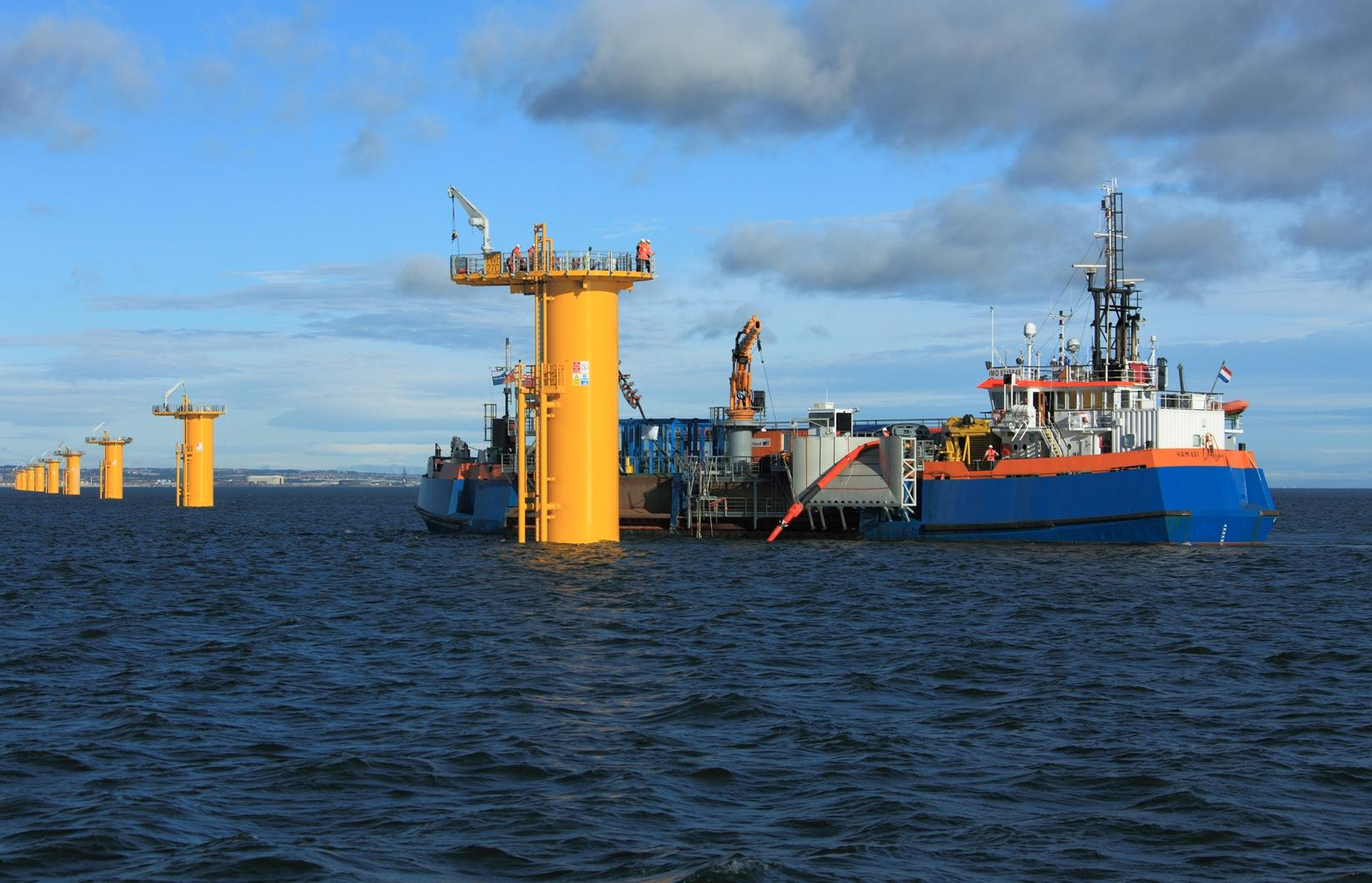 Tekmar Energy has benefited from three contracts with Van Oord