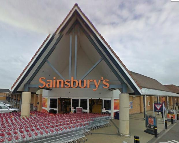 Sainsbury's blamed a fall in food prices, the later timing of Easter and unseasonable weather for a decline in sales.