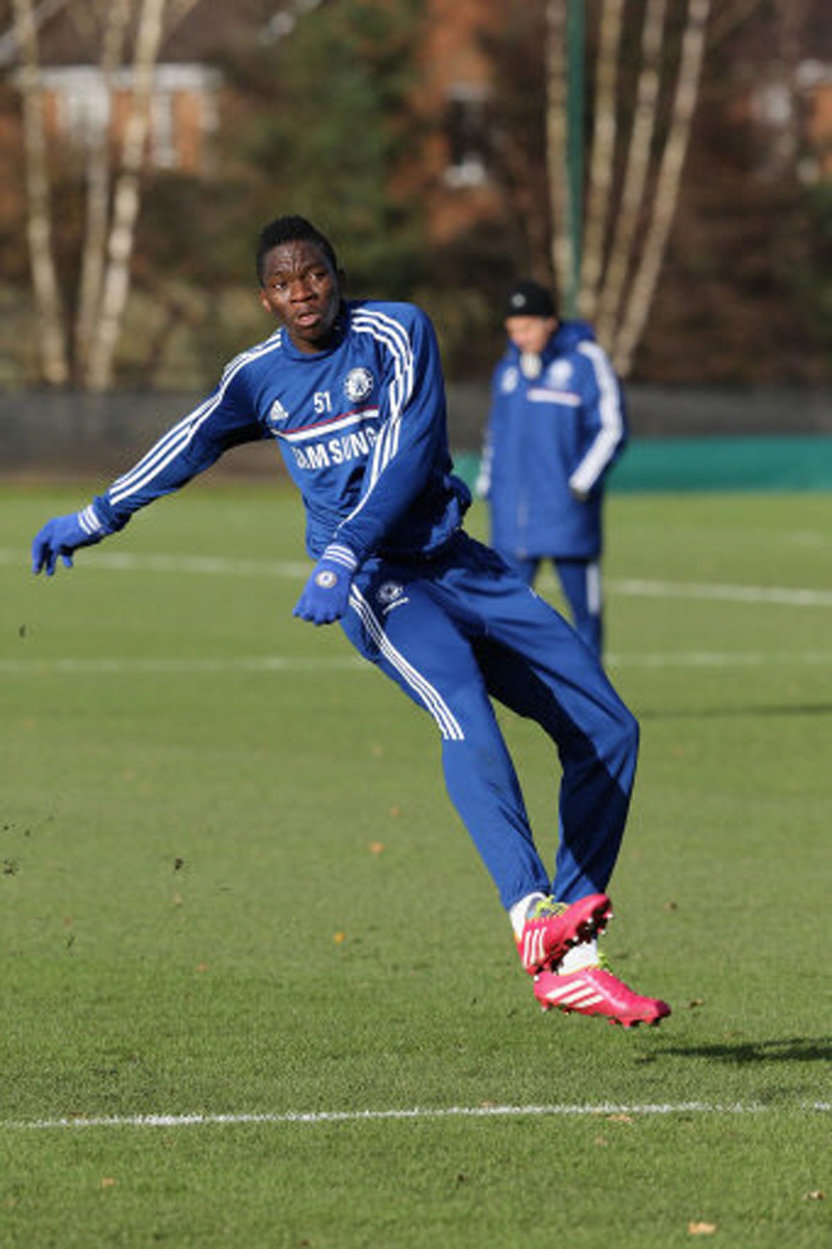 TALENT SHOW TRIAL: Kenneth Omeruo's career began with an open trial for Nigeria's Under-17s World Cup squad