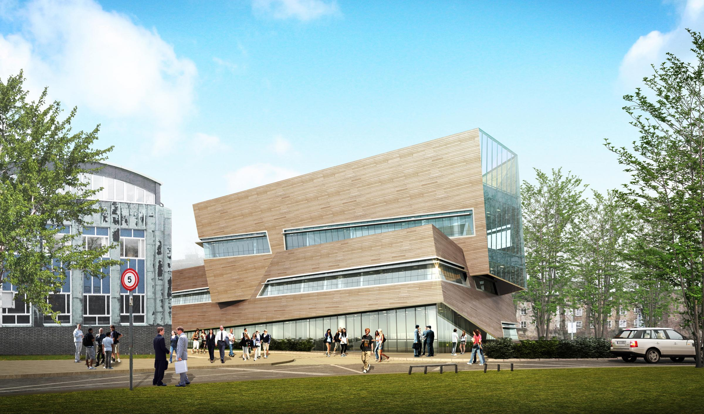 An artist's impression of the new Ogden Centre