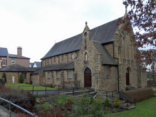 The Northern Echo: St Patrick's Church at Meadowfield, one of two places of worship targeted on crime spree by young offender Jason Bolingbroke