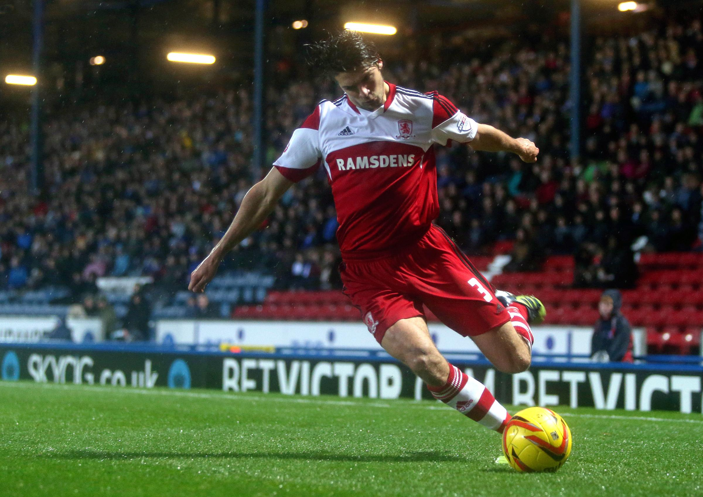 IMPROVEMENT: George Friend again impressed at the weekend