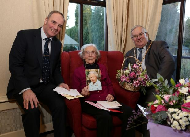 Centenarian marks her birthday in Bedale