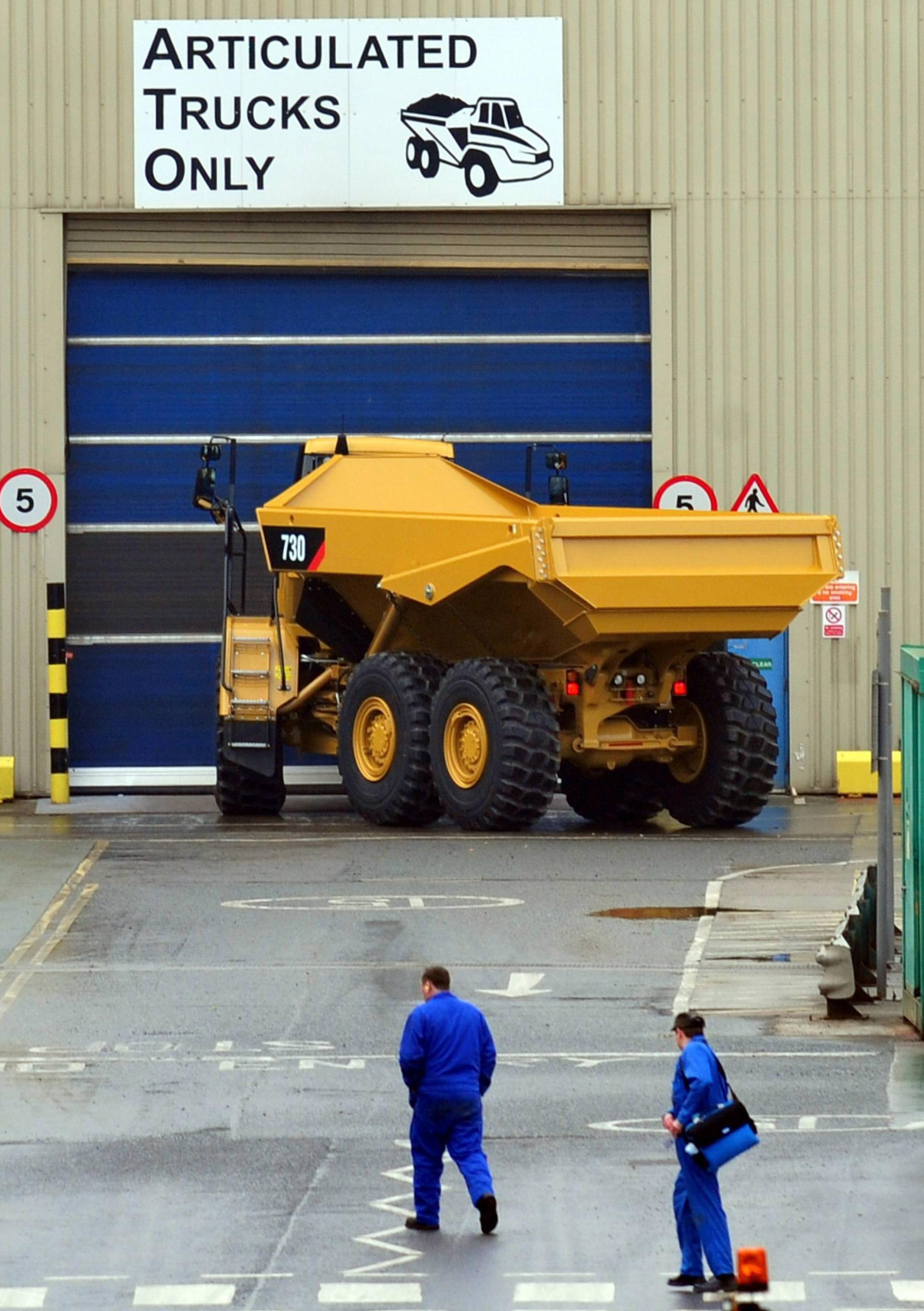 Caterpillar, in Peterlee, east Durham, has confirmed it has made job cuts