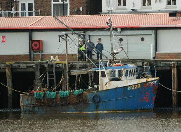 Two fishermen were found dead on board the Eshcol