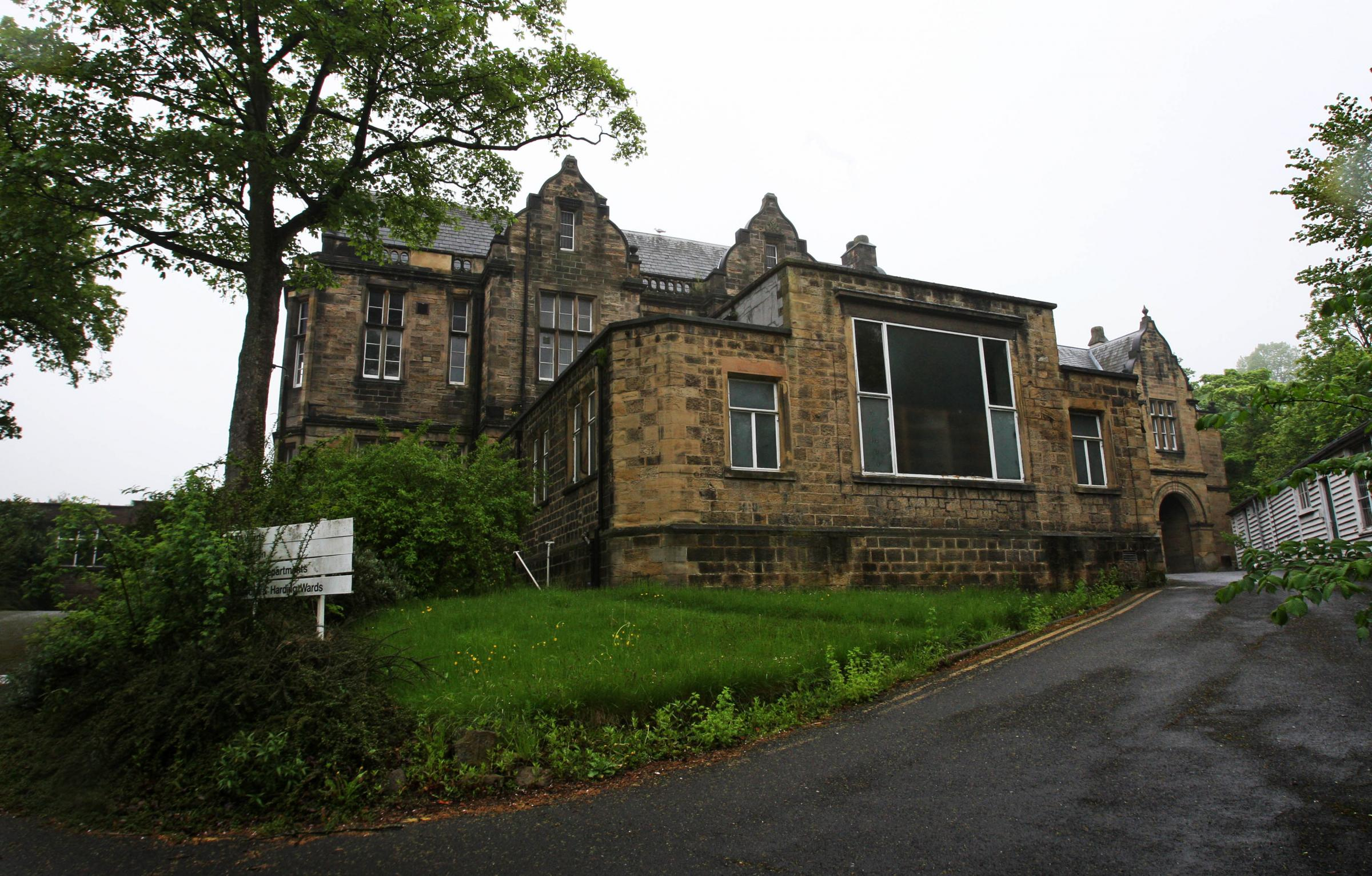 The former County Hospital, Durham