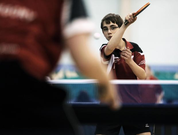 Table tennis sessions take place in Darlington each week