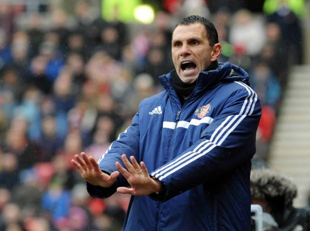 FOCUS: Sunderland boss Gus Poyet wants his team to focus on their league position