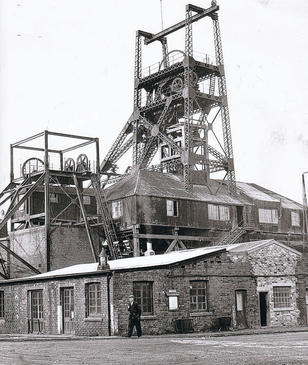 CLOSING VIEW: North Skelton ironstone mine on the day it closed, January 17, 1964