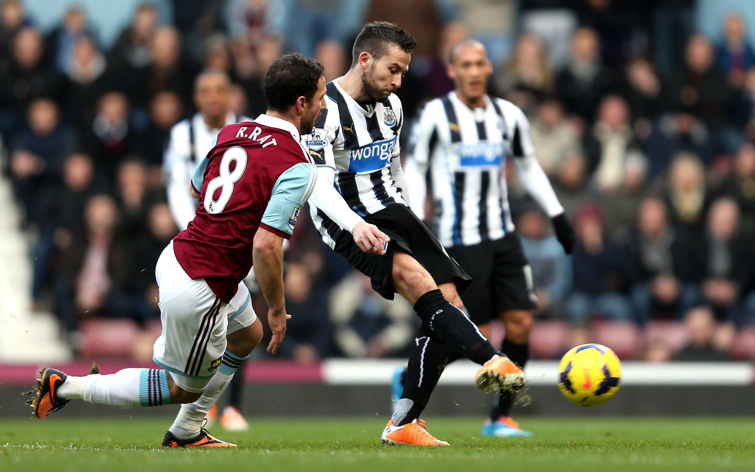 JANUARY MOVE? Newcastle midfielder Yohan Cabaye is attracting interest this month