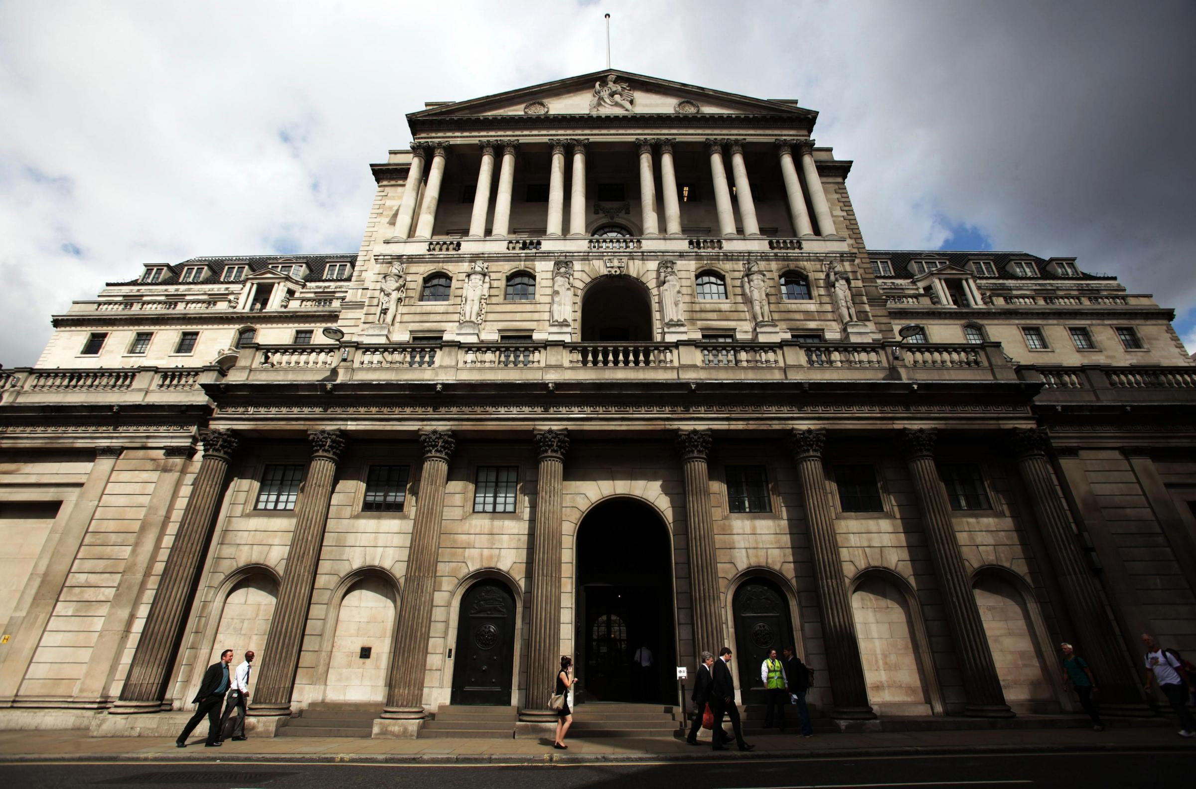 The Bank of England are in no hurry to raise interest rates