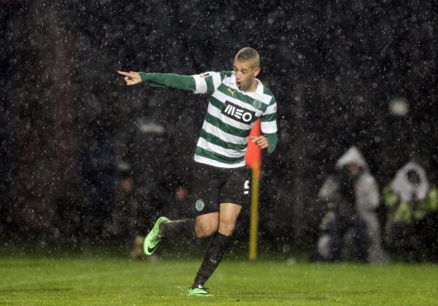 The Northern Echo: Islam Slimani. Picture: Action Images