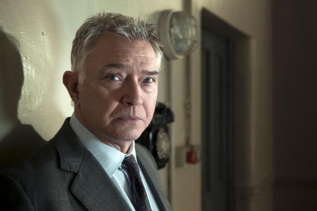 TV DETECTIVE: Martin Shaw, as Inspector George Gently