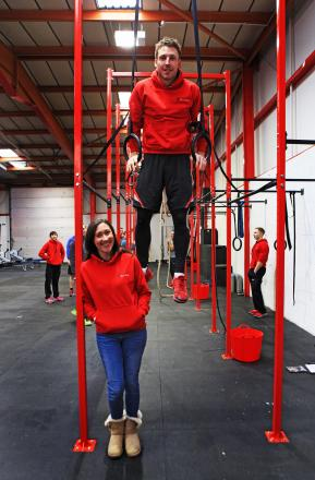 Newton Aycliffe couple Vikki and Terry Anderson introduced people to CrossFit at a recent open weekend