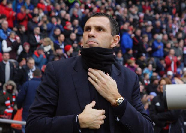 LAST CHANCE: Gus Poyet has urged his players to treat today's game as if it was the final day of the season